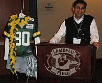 badrul khan Green Bay Packer Lambeau Field4