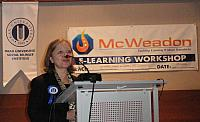McWeadon E-Learning Workshop in Istanbul, Turkey organized by Okan University and Enocta,  Dec 21, 2010.